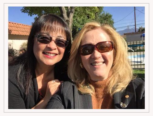 Mila Banez and Tracy Wilke