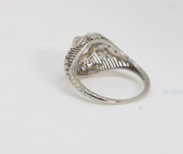 1920s platinum ring