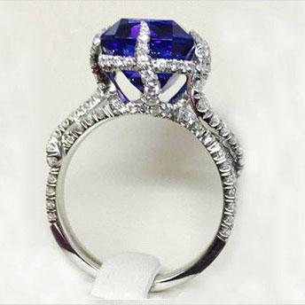 Custom Platinum Ring